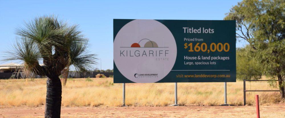 kilgariff estate signage
