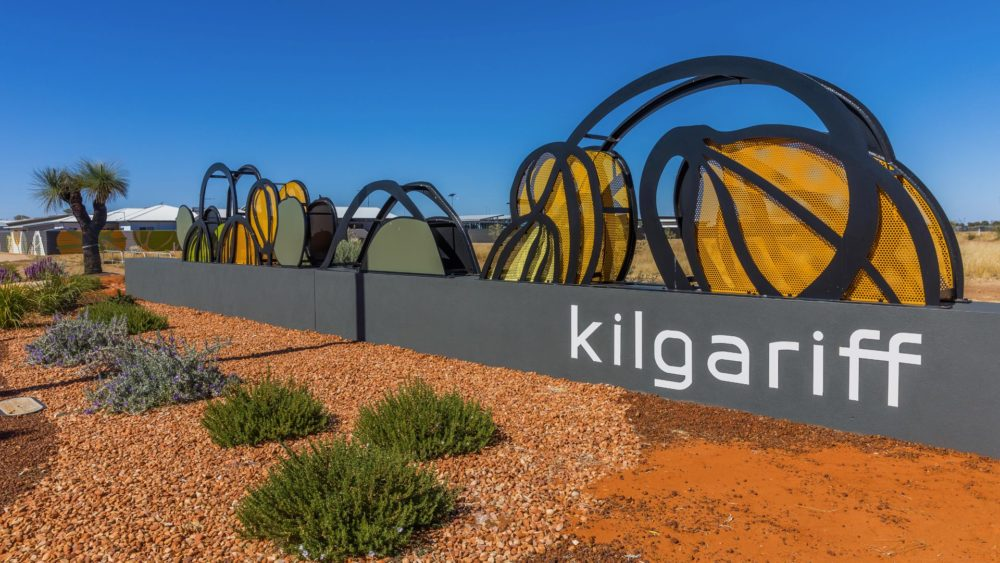 kilgariff estate entrance